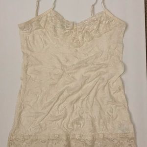 Maurice's Beige Lace Camisole